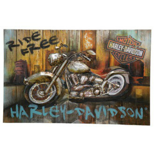 Harley-Davidson Ride Free Wall Art HDL-15513