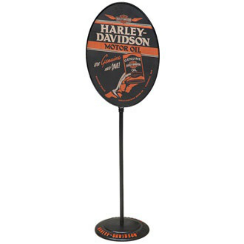 Harley-Davidson Oil Can Floor Standing Pub Sign HDL-15514