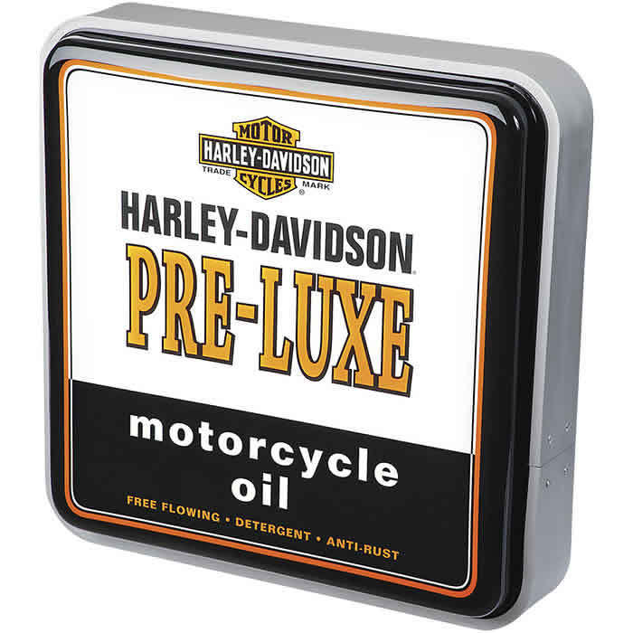 Harley-Davidson Pre-Luxe Oil Can Square Pub Light HDL-15626