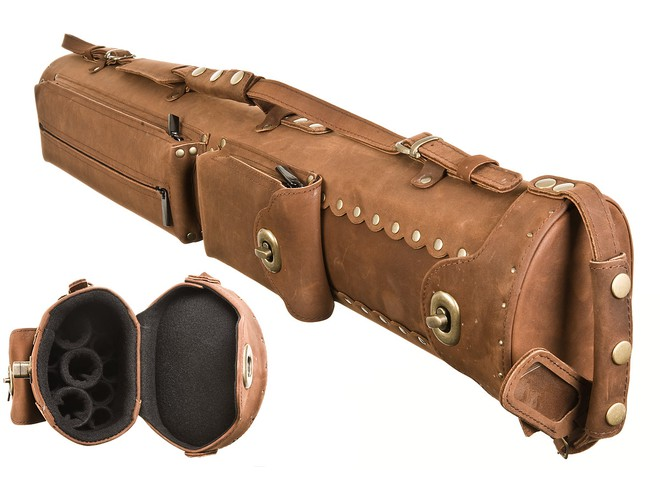 InStroke 3x7 Brown ISB37 Buffalo Pool Cue Case