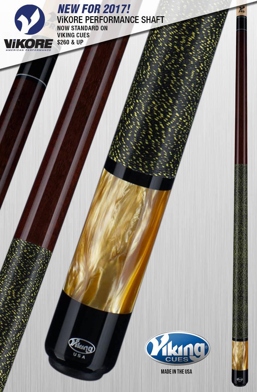 Viking Usa A289 Pool Cue Stick 18 19 20 21 Oz Free Case
