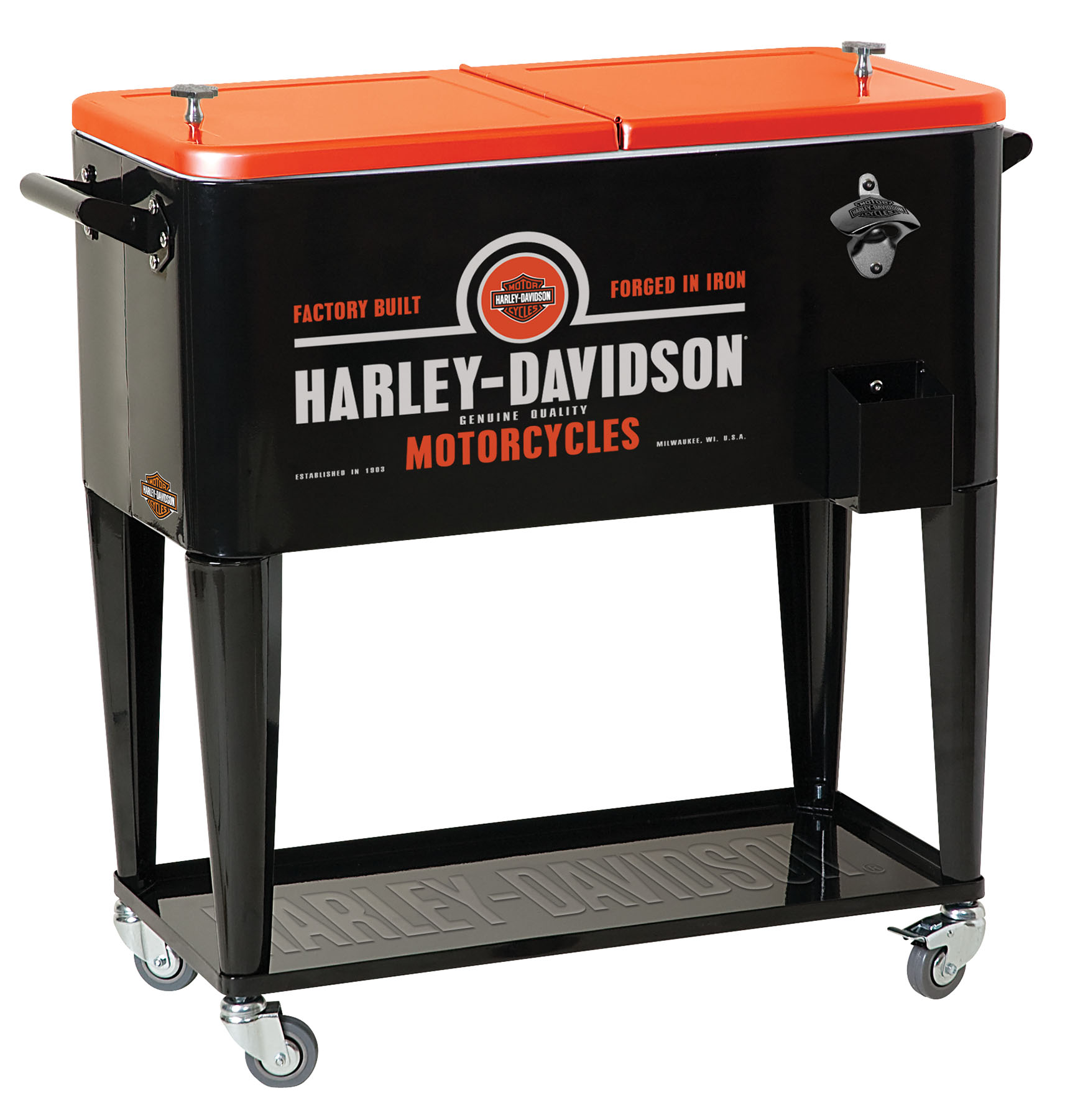 Harley-Davidson Forged In Iron Rolling Cooler HDL-10071