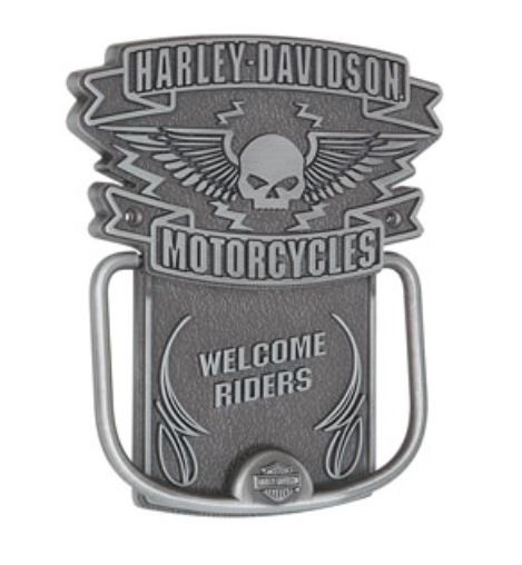 Harley-Davidson Winged Skull Door Knocker HDL-10097