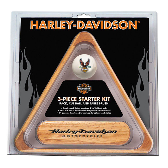 Harley-Davidson 3-Piece Billiards Starter Set HDL-11148