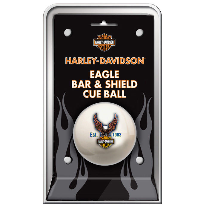Harley-Davidson Bar & Shield Eagle Cue Ball HDL-11149