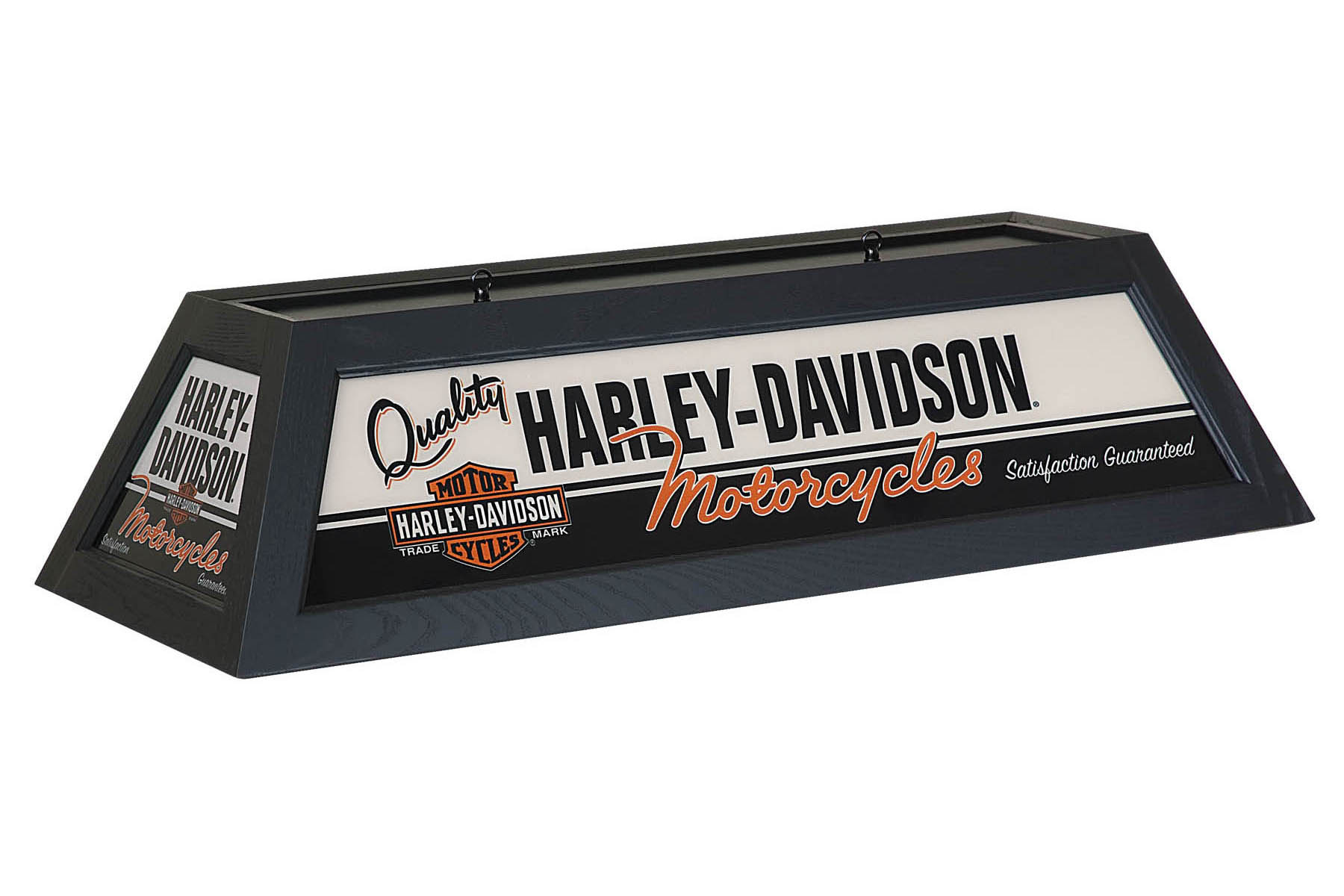 Harley-Davidson Quality Motorcycles Billiard Lamp Black Finish HDL-11782