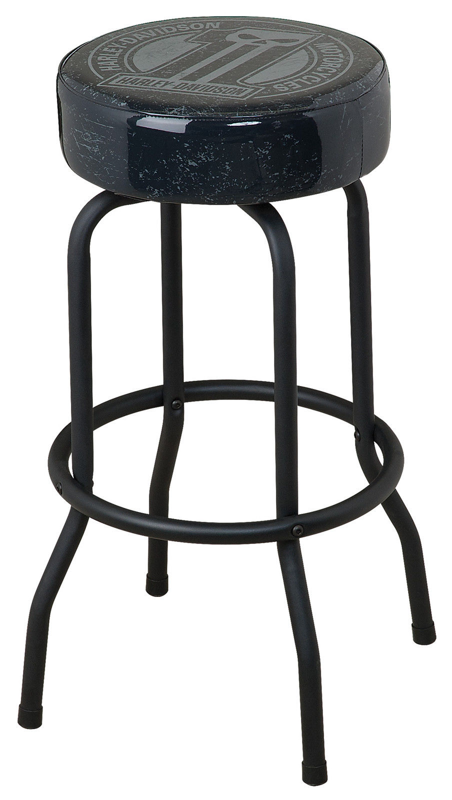 Harley-Davidson Dark Custom Bar Stool HDL-12130