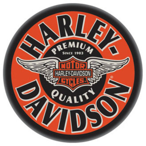 Harley-Davidson WINGED B&S CAFE PUB TABLE HDL-12328