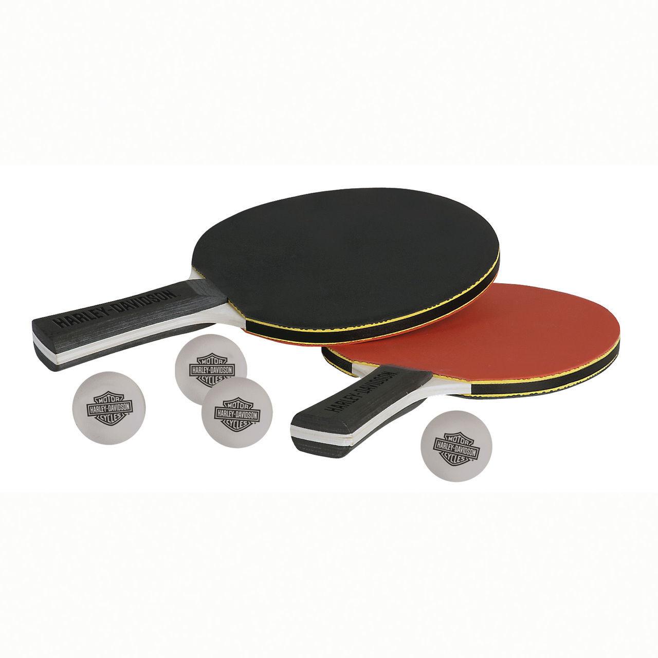 Harley-Davidson Table Tennis Paddle Set HDL-13704