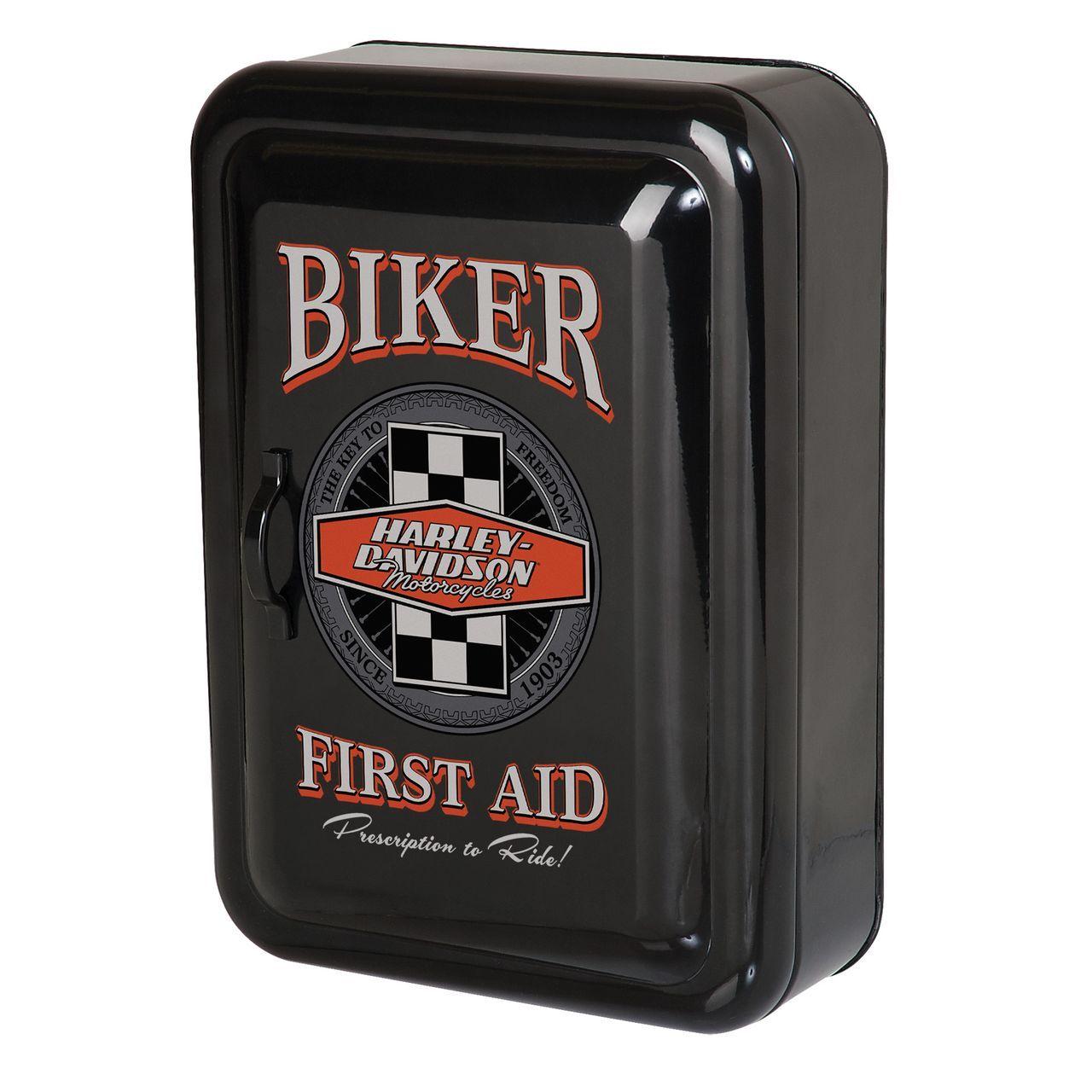 Harley-Davidson Biker Key Rack Cabinet HDL-15104