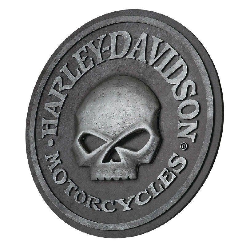 Harley-Davidson Skull Pub Sign HDL-15311