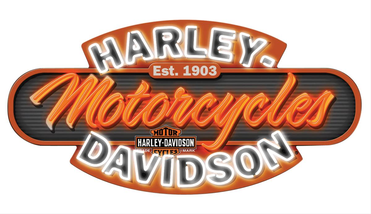 Harley-Davidson Motorcycles Neon Sign HDL-15405