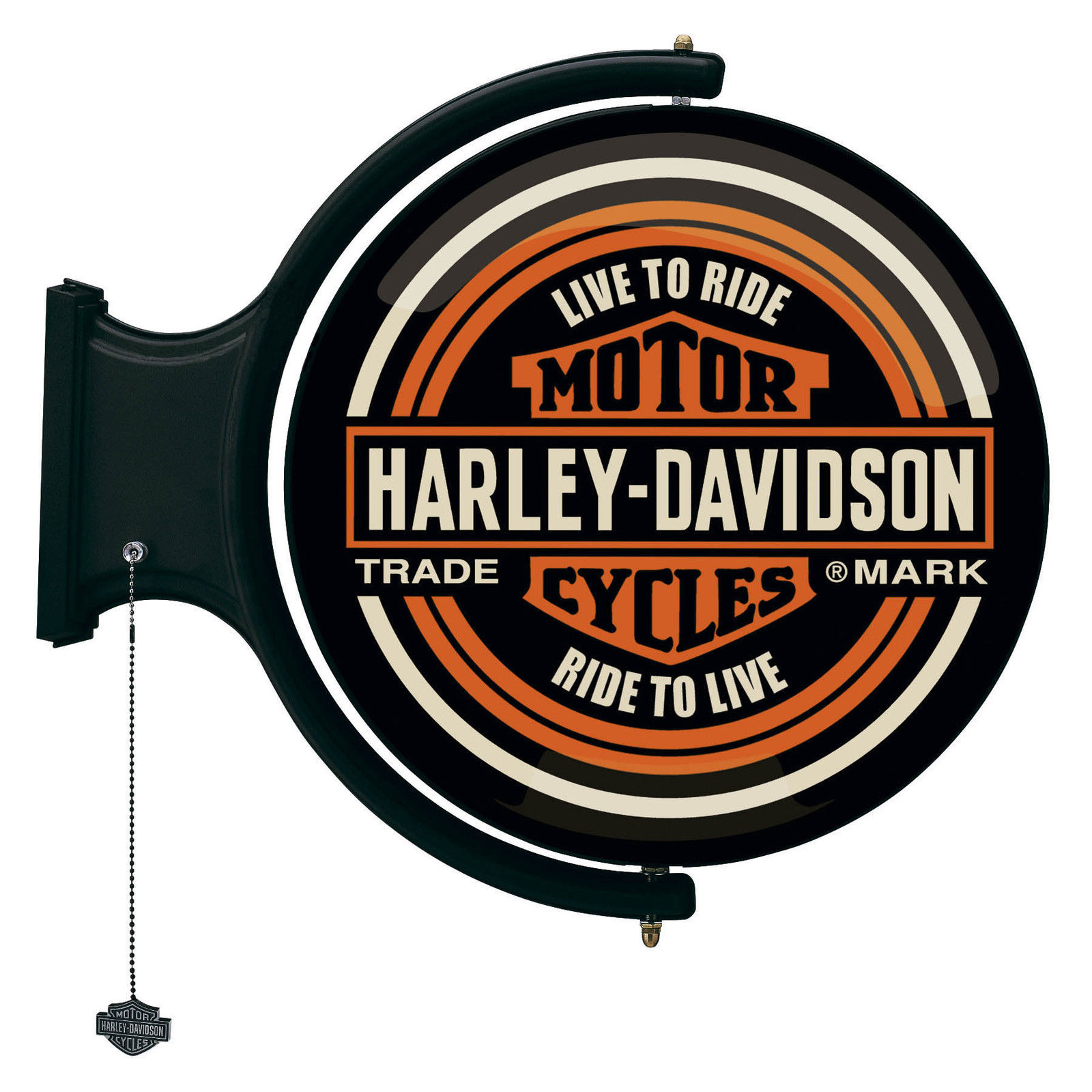 Harley-Davidson Motorcycles Rotating Pub Light HDL-15622