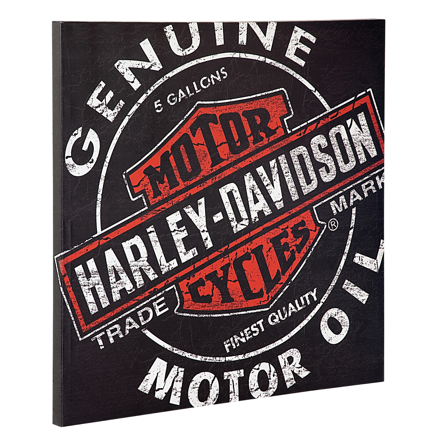 Harley-Davidson Oil Can Canvas Print HDL-15700