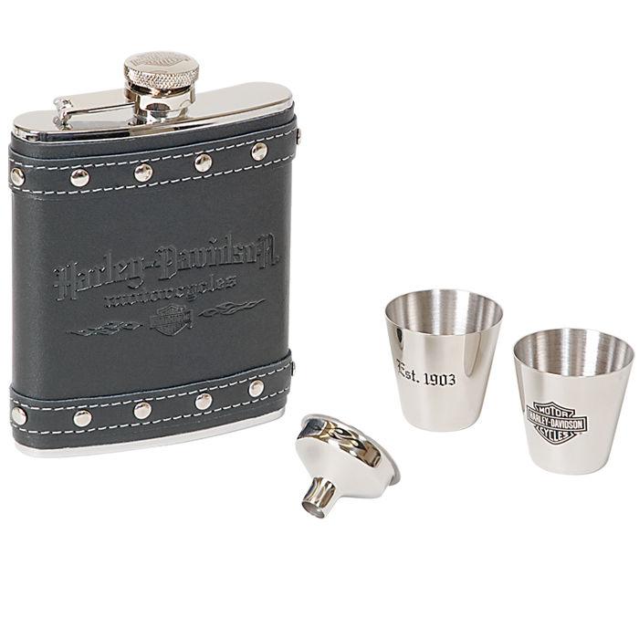 Harley-Davidson Motorcycles Flask Set HDL-18505
