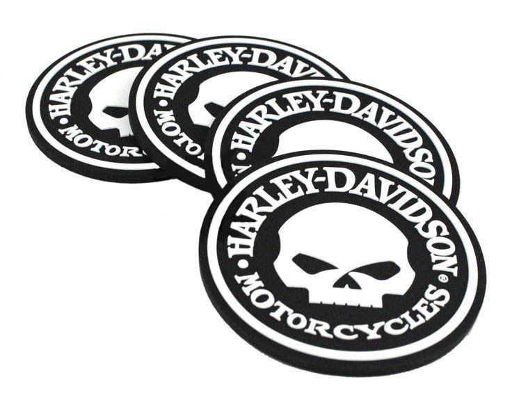 Harley-Davidson Skull Coaster Set HDL-18522