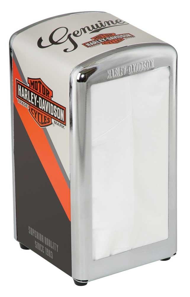 Harley-Davidson Nostalgic B&S Napkin Dispenser HDL-18568