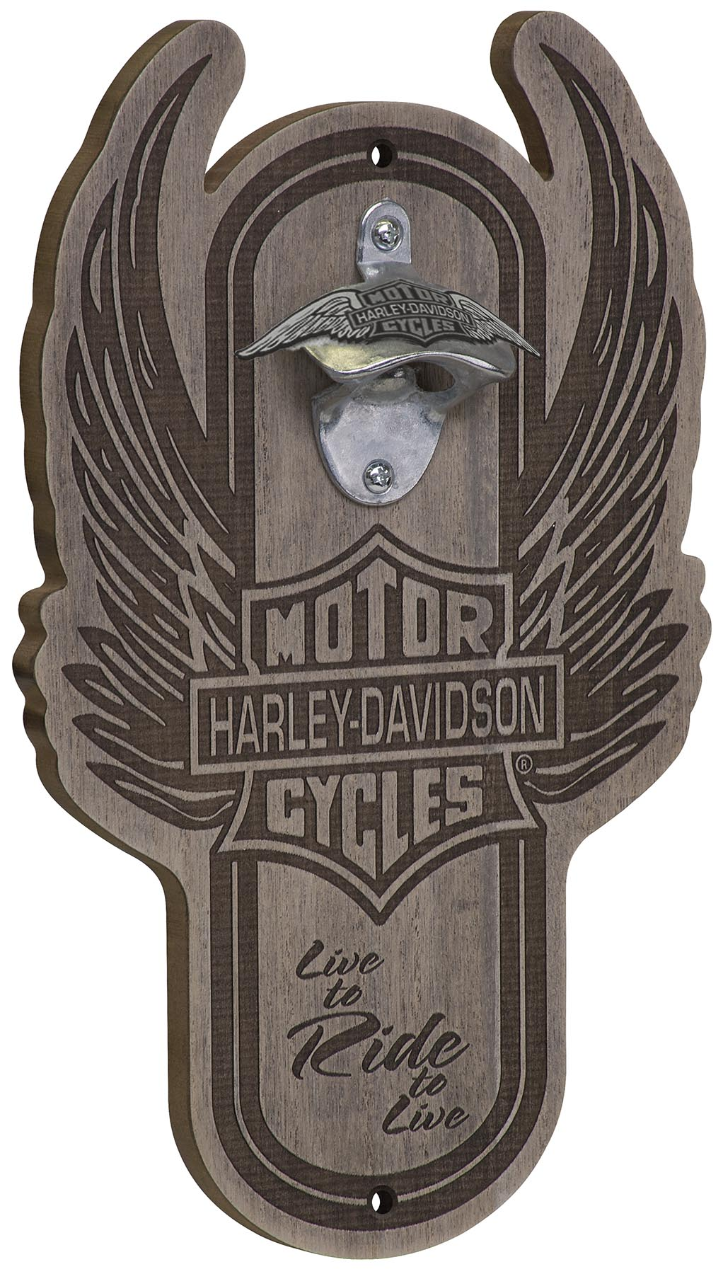 Harley-Davidson Winged B&S Magnetic Bottle Opener HDL-18570