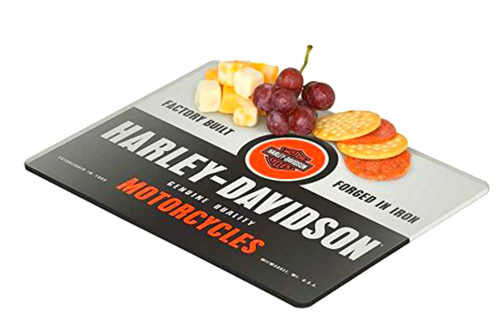Harley-Davidson FORGED IN IRON MINI CUTTING BOARD HDL-18576