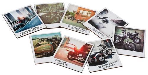 Harley-Davidson SNAPSHOT COASTER SET HDL-18577