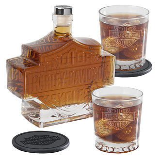 Harley-Davidson Bar & Shield Decanter Set HDL-18746