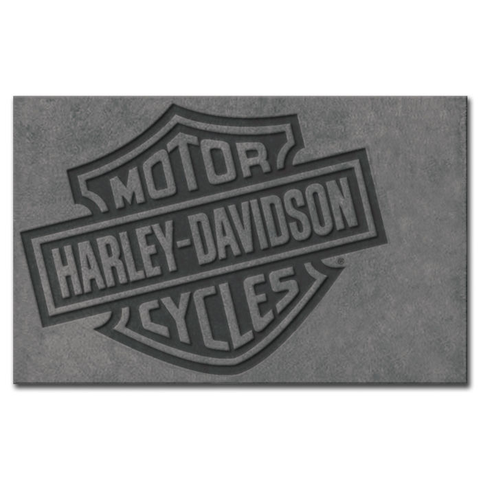 Harley-Davidson Bar & Shield Small Area Rug 5' x 3' HDL-19503