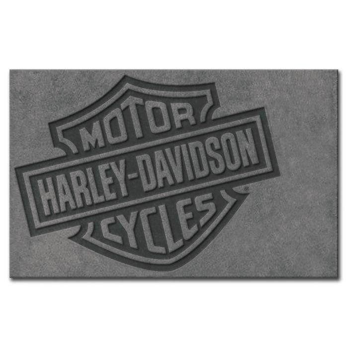 Harley-Davidson Bar & Shield Small Area Rug 5' x 3' HDL-19503
